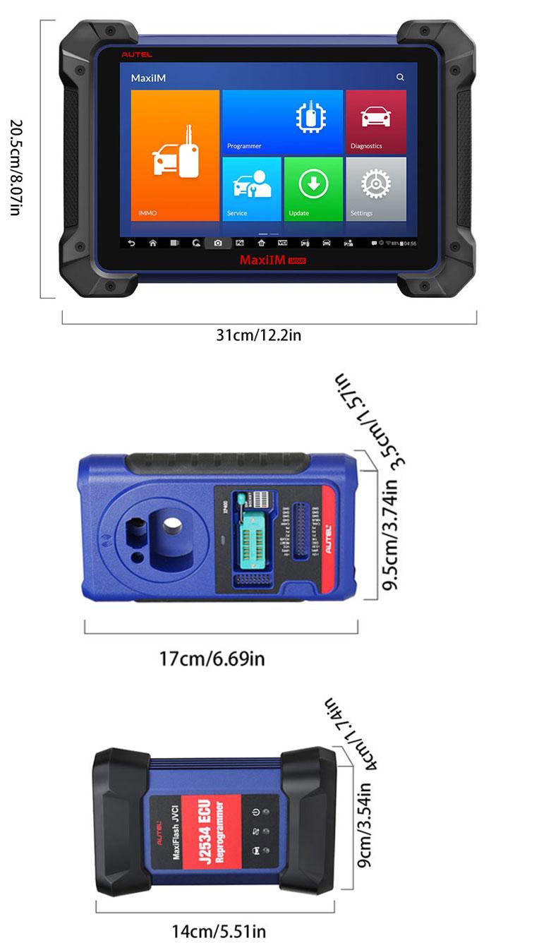 Maxi IM608 Immobilizer & Key Programmer